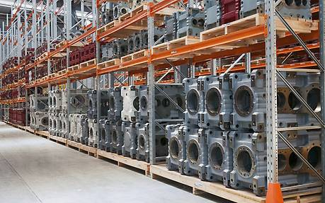 High availability of spare parts