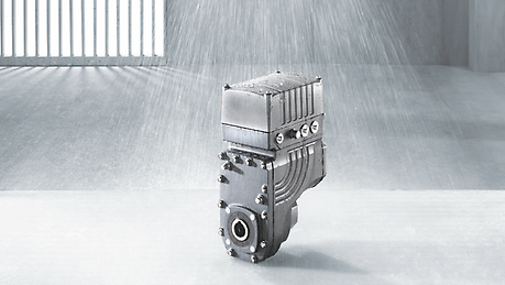 MOVIGEAR® for wet areas has a number of advantages over traditional drives